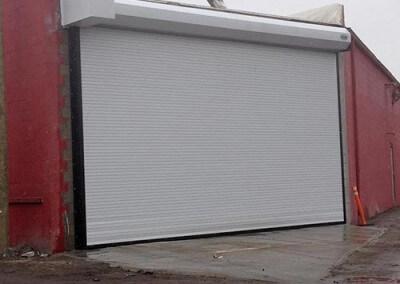 rolling door