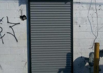rolling steel curtain