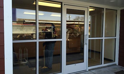 Glassaluminum Doors Metro Detroit Mi Motor City Door