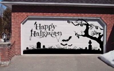 *UPDATED* Halloween Garage Door Decorations That Will Make Your Home Look Spooktacular