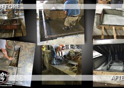 Commercial - Dock Leveler - Process