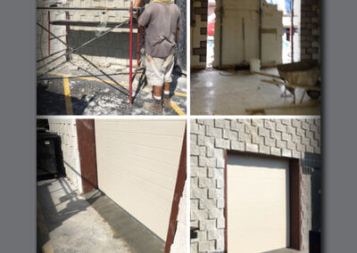 Troy - New Doorway - process