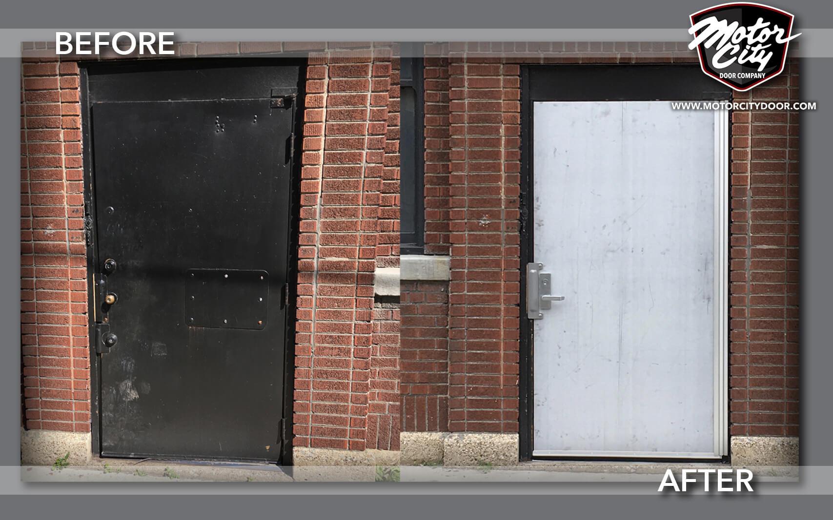 Commercial doors metro detroit garage storefront more for Commercial garage door motor
