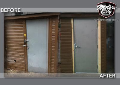 Commercial - Pedestrian Entry