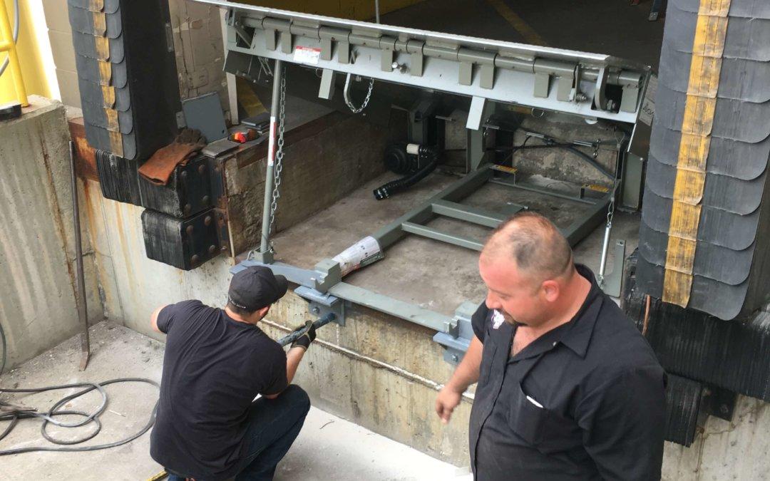 Dock Leveler Inspection