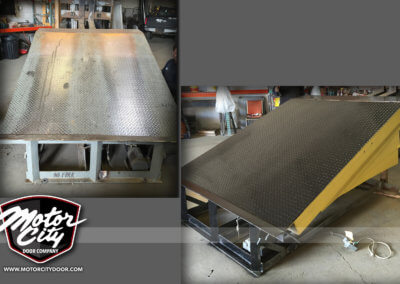 MCD-dock leveler refurbished