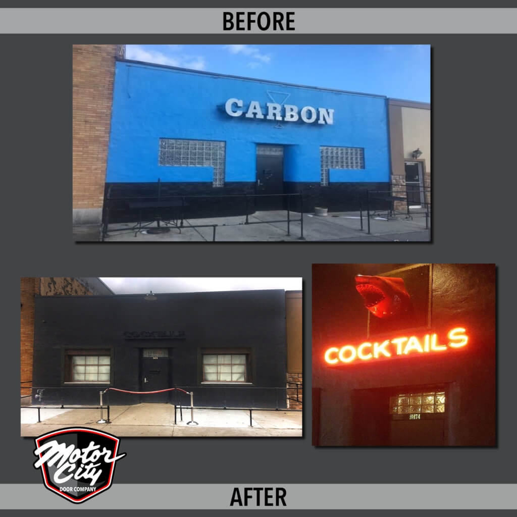 High Dive Bar - Before & After
