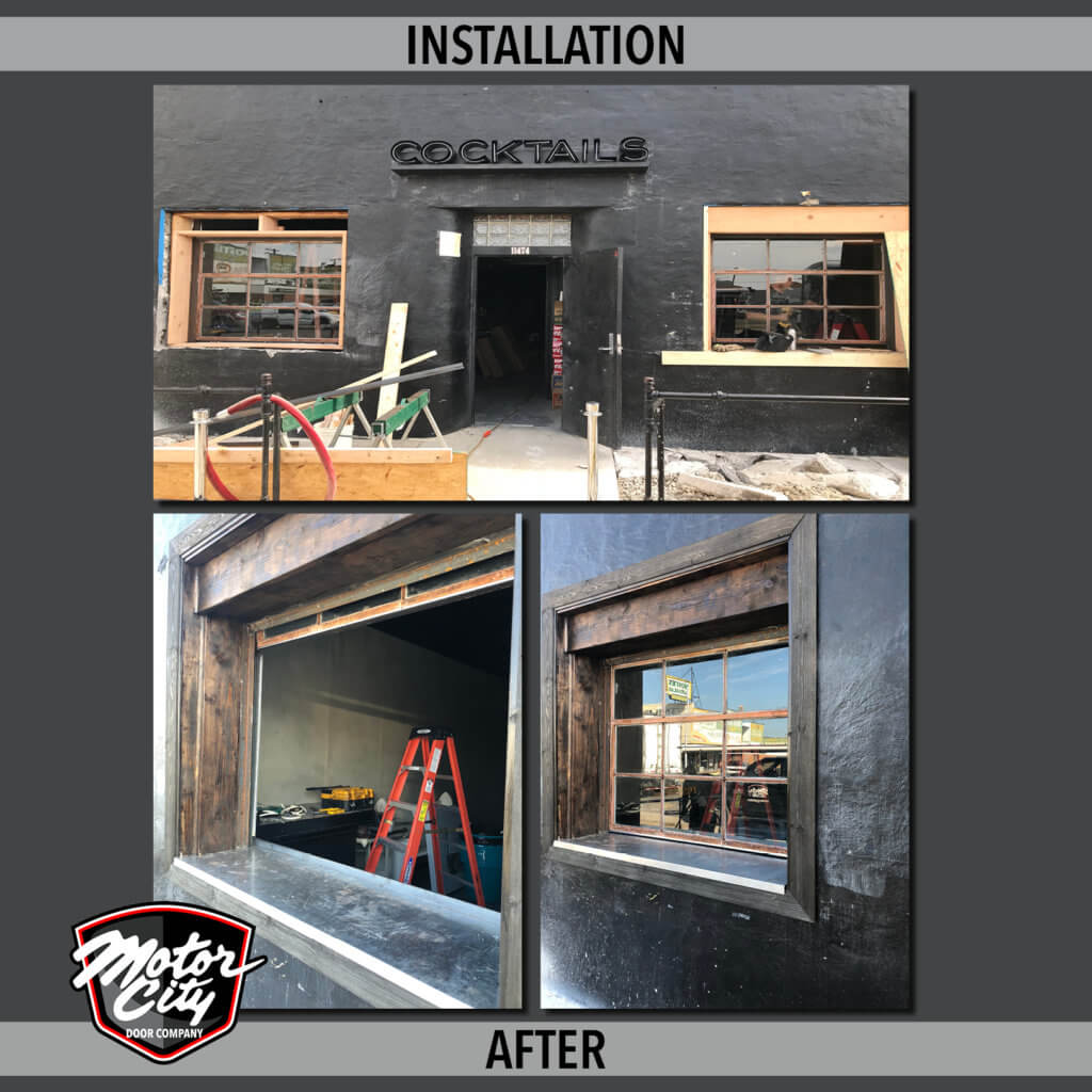 High Dive Bar - Custom Door Installation
